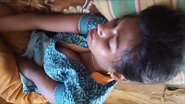 Tamil school girl boobs captured by brother