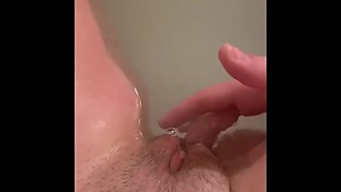 Solo Teen Female Shower Matirbation