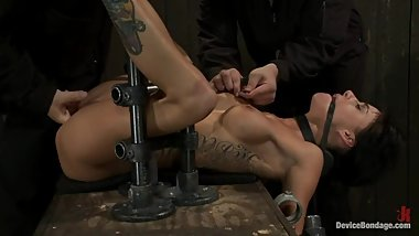Gia DiMarco Tits Clamped Bondage Flogged P1 (More on TeenPornMaster)