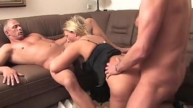 horny brothrt blonde sister and father in family dreams