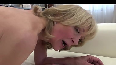Teen and Granny Anal
