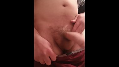 Express masturbation with finished. Big dick