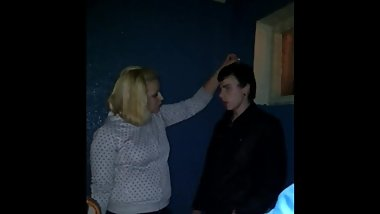 Femdom punishment in real life in Russia by teen girl